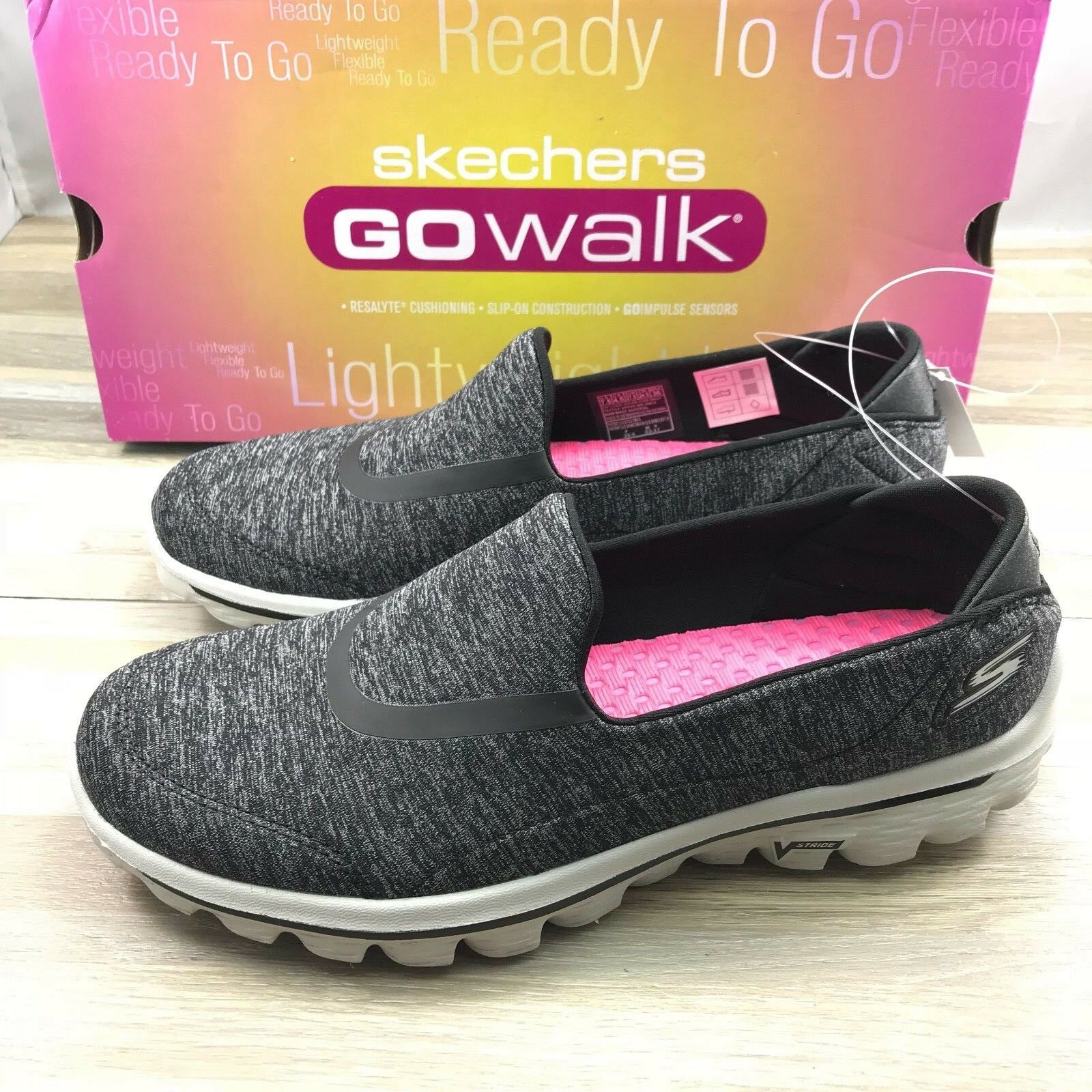 Walking Shoe 13753 SIL Size 7.5