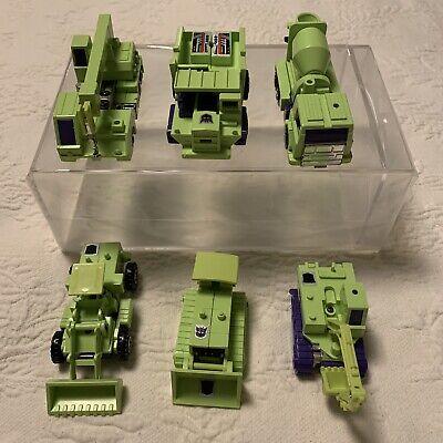Hasbro Transformers Vintage G1 Devastator Complete Loose Constructicons