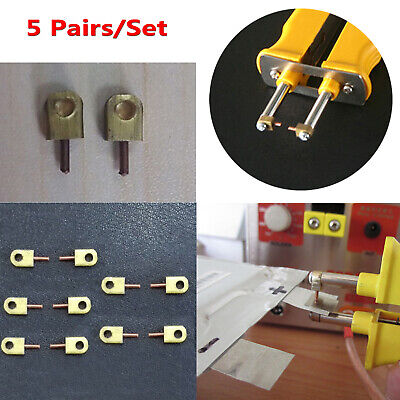 5 Pair Copper Spot Welding Pin Needle Tip Set For Sunkko Hb-71b Spot Welding Pen
