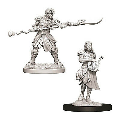 Dungeons And Dragons Yuan-Ti Pureblood Adventurers Nolzur's Miniatures NEW Dungeons And Dragons Dungeon