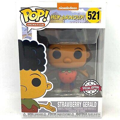 Funko Pop! Hey Arnold 521 - Strawberry Gerald Special Edition