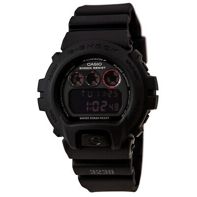 Casio Men's Watch G-Shock Alarm Black & Pink Digital Dial Resin Strap DW6900MS-1
