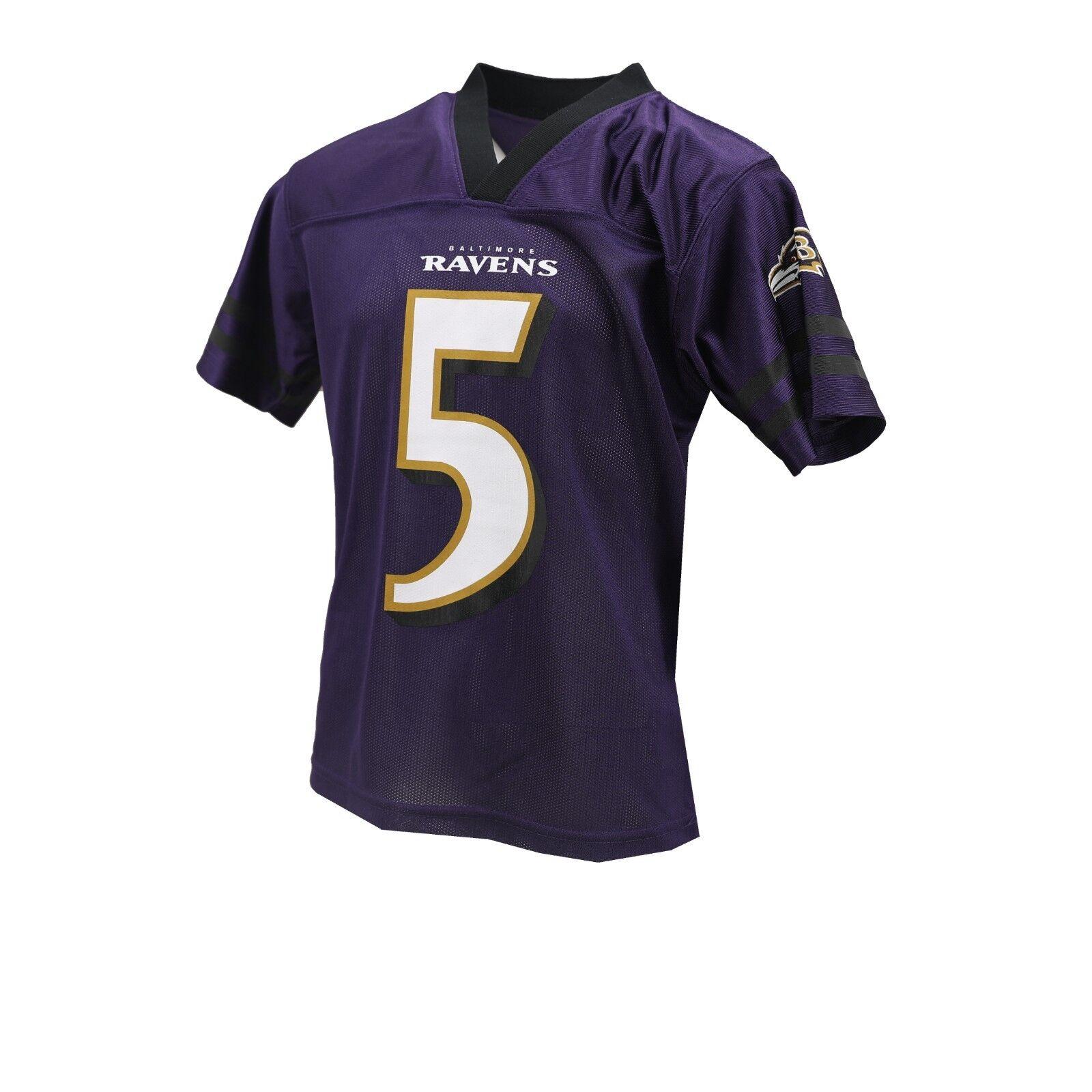 watch 1ffae 06f57 Baltimore Ravens Official NFL Apparel Kids Youth Size Joe ...