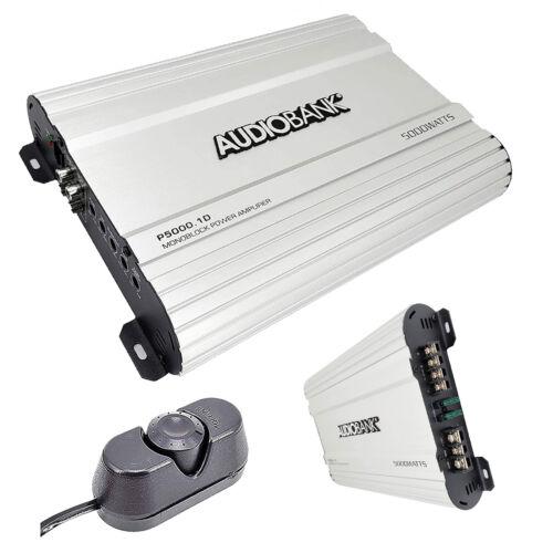 Audiobank P5000.1D  5000 Watt D CLASS Monoblock Car Amplifier  2/4 Ohm Stable