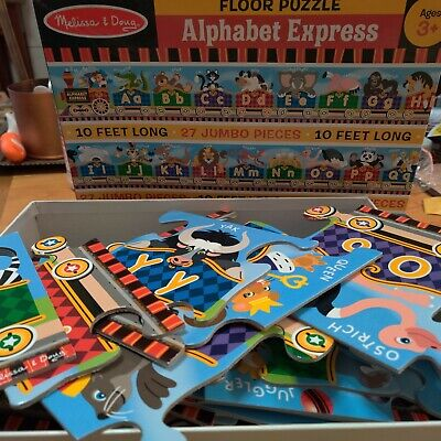 Alphabet Express Floor Puzzle for 3+ yoa, 10 ft. long