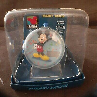 Sounds Fun Mickey Unlimited Kids Alarm Pocket Watch (Digital)