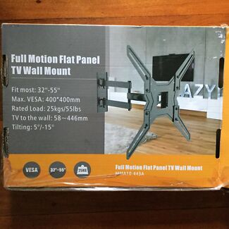 """Full motion flat panel TV wall mount  fit most 32""""-52"""" tv"""