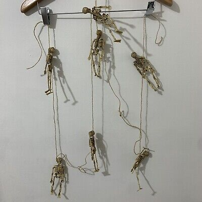 Skeleton Garland Haunted House Trick or Treat Halloween Decor Skeletons 140 ""