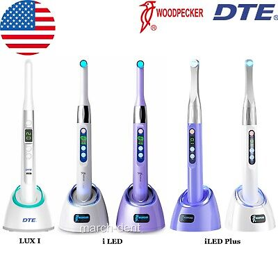 Woodpecker Dte Dental Curing Light 1 Sec Cure Lamp Wide Spectrum Iled Plus Lux I