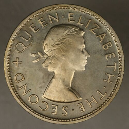 New Zealand 1953 Crown Proof