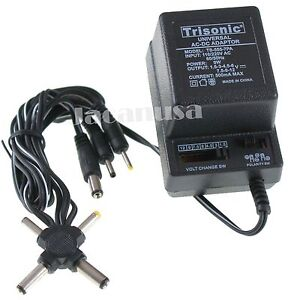 New-AC-DC-Universal-Power-Adapter-110-220V-Input-7-DC-Output-500mA-2-Sony-Plugs