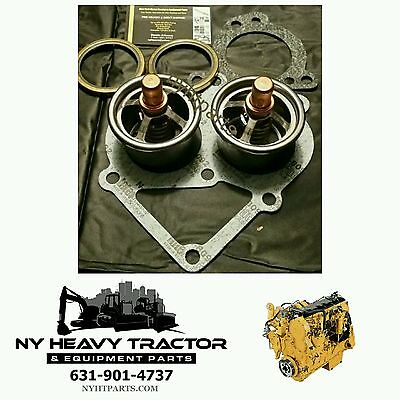 Caterpillar New Replacement Thermostat Kit C-15 C15 247-7133 2477133 CAT 6NZ MBN