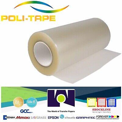 Poli-tape Aplitape Application Transfer Tape Vinyl Plotter Cut 15x 30yds Clear