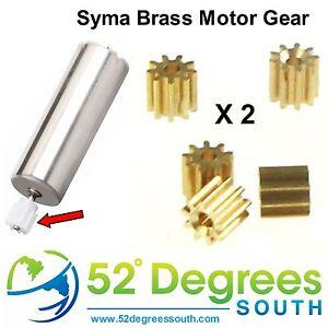 Syma Brass Motor Gears X5C X5 X5SC Free UK Shipping