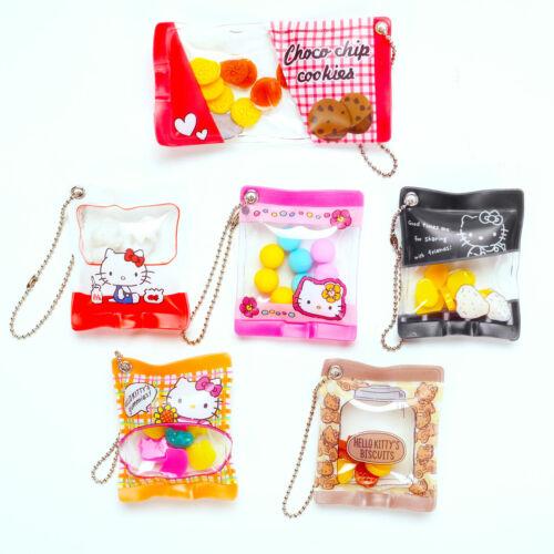 Hello Kitty Phone Journal Planner Charm Kawaii Candy Keychain 1 Random Figure