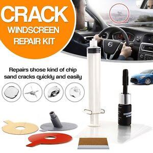 New Windscreen Car Glass Window Screen Repair Kit DIY Chip Polishing Scratches