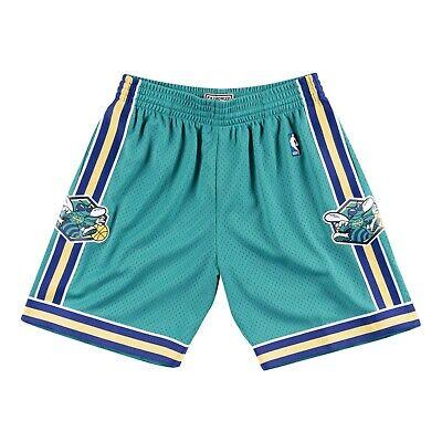 TEAL New Orleans Hornets Road  2005-06 Mitchell & Ness NBA Men's Swingman Shorts