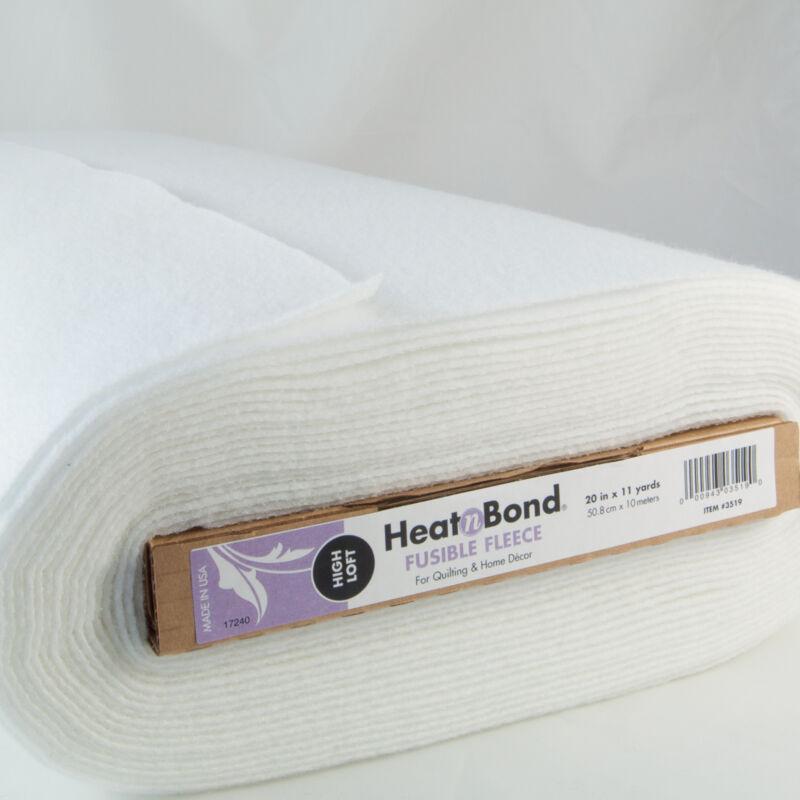 HEAT N BOND FUSIBLE FLEECE  High Loft Bag Making Iron On Choice Lengths up to 2m