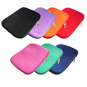 Funda de neopreno con cremallera para port til notebook pc 13 14 pulgadas ebay - Fundas para pc portatil ...
