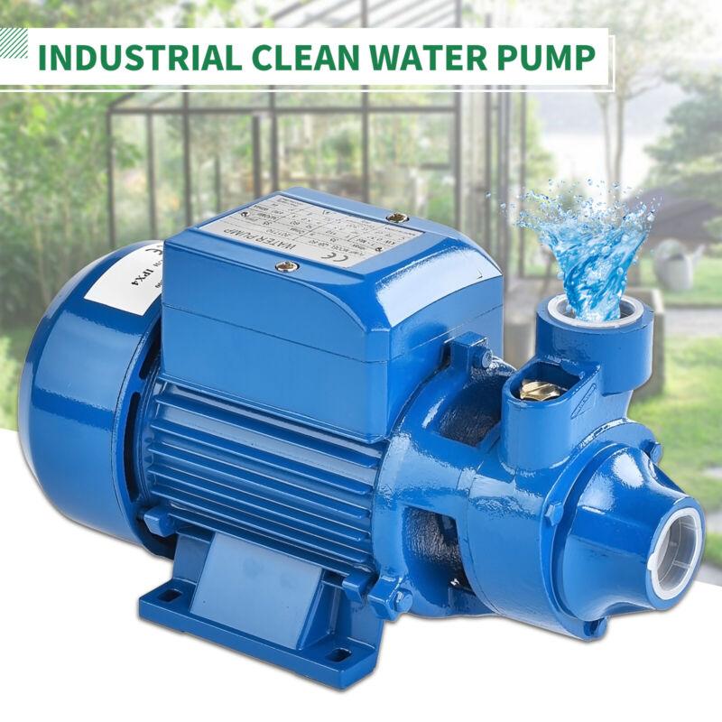 1/2HP 370W Electric Industrial Centrifugal Clear Clean Water Pump Pool Pond Farm