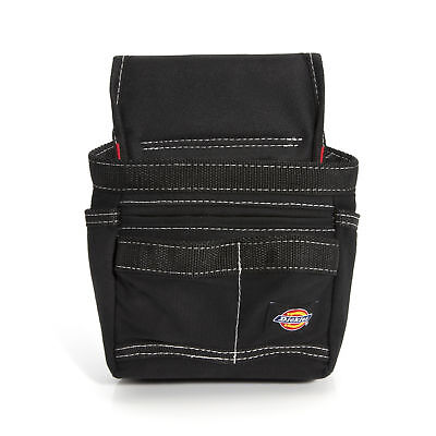 - Dickies Work Gear 57074 Black 10-Pocket Small Tool and Utility Pouch