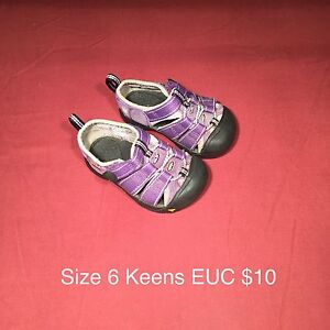 Toddler size 6 Keens