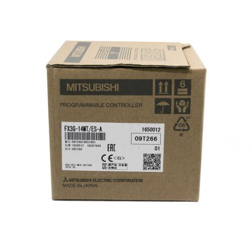 Mitsubishi PLC FX3G-14MT/ES-A Base Unit FX3G14MTESA PLC Processors New In Box