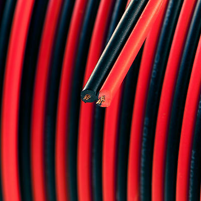 20 Ft 20 Gauge Wire Black And Red Zip-cord Type Wire 20