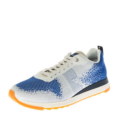 RRP €140 PS By PAUL SMITH RAPPID Knitted Sneakers Size 41 UK 7 US 8 Lace Up