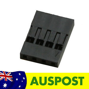 4P Dupont Connector - 4 Pin Plastic Connector - 10 Pack