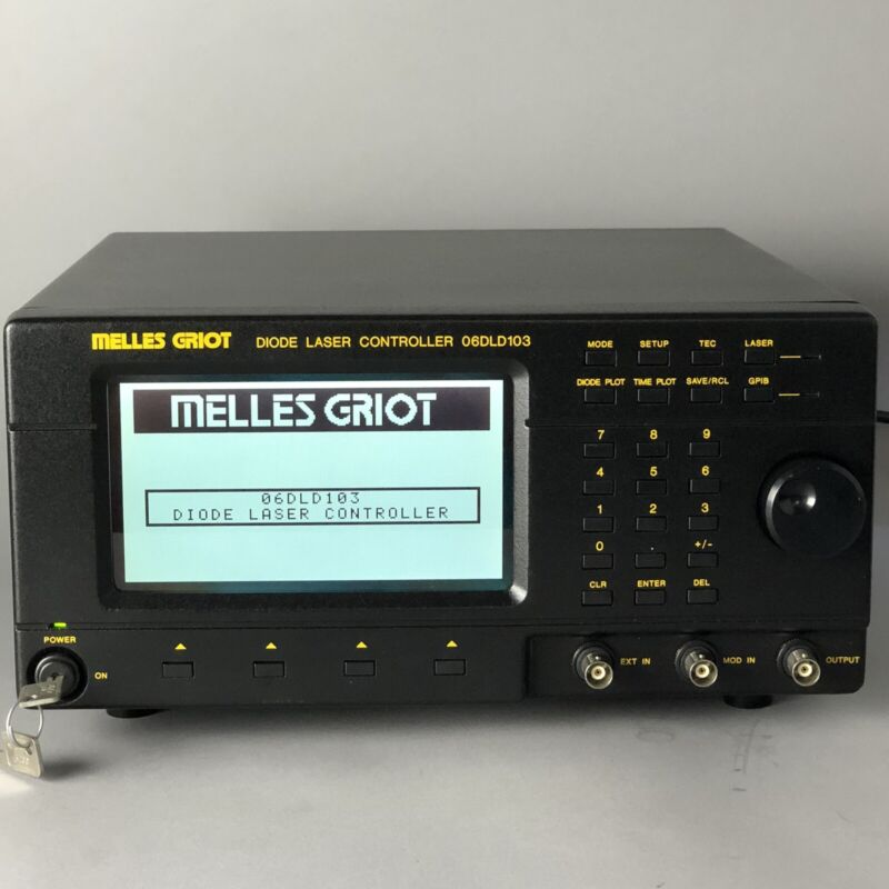 Melles Griot 06DLD103 Diode Laser Driver - Passes Self Test - 30 Day Guarantee!