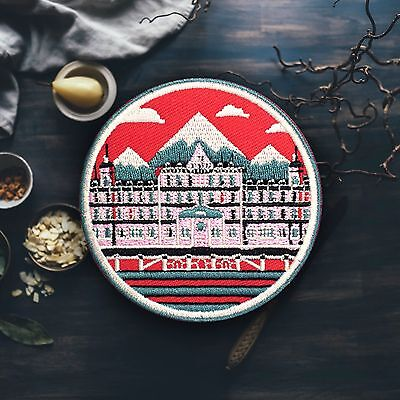 Grand Budapest Hotel   Wes Anderson Patch  Free Shipping Us