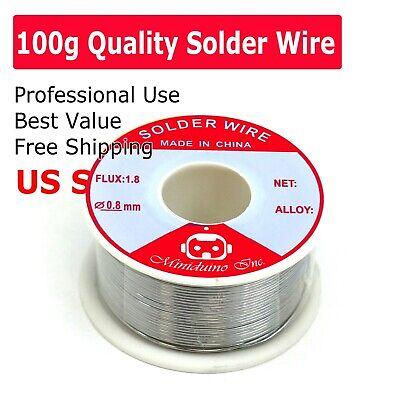 New 6337 Tin Lead Line Soldering 0.8mm Rosin Core Solder Flux Welding Wire Reel