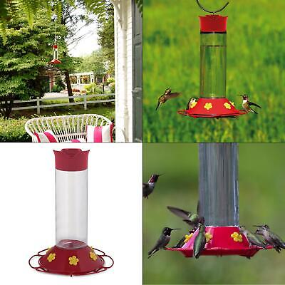 our best red base glass hummingbird feeder - 30 oz. capacity