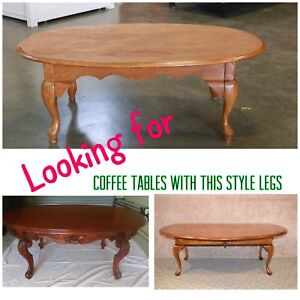 ISO coffee tables