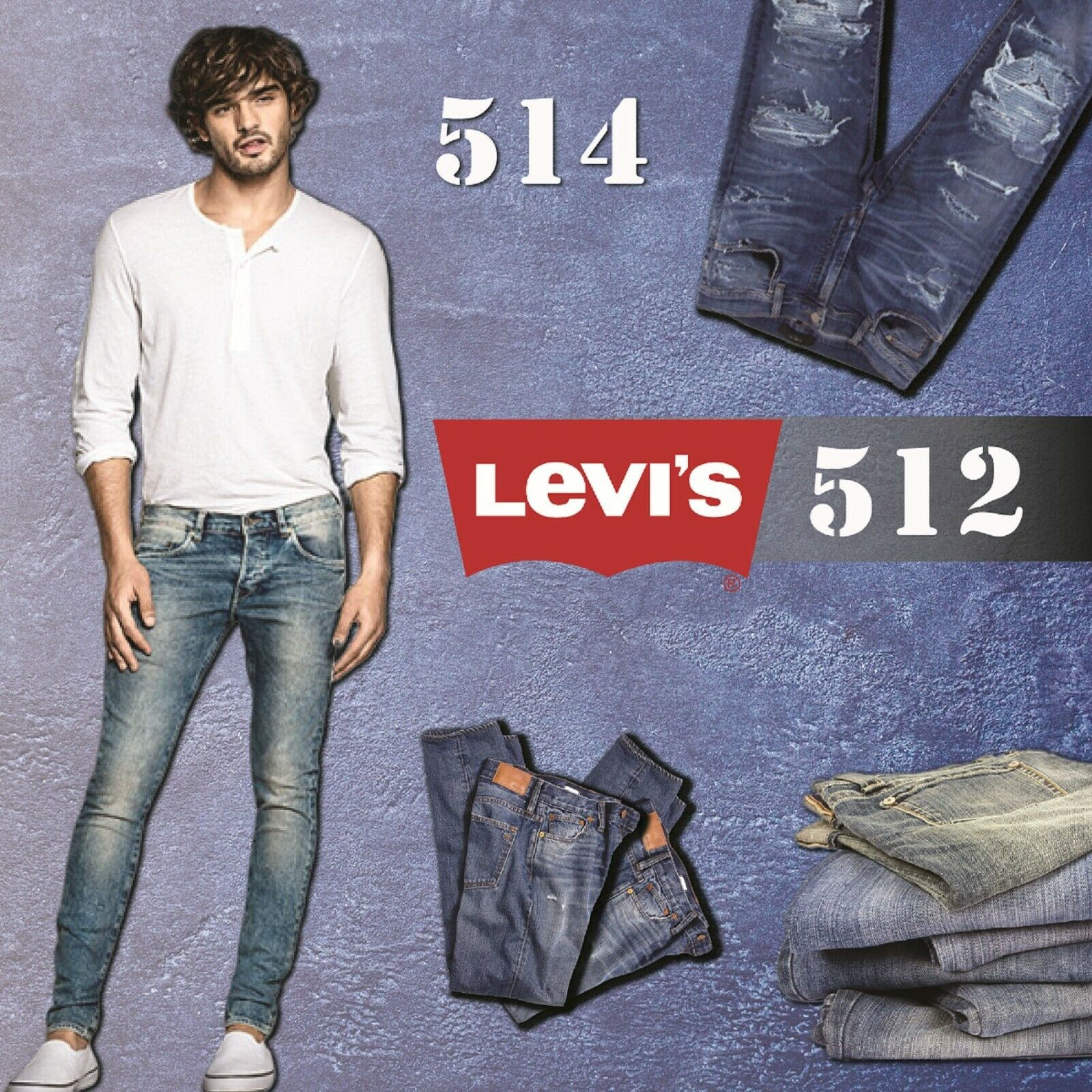 Free Postage Brand New With Tags Mens Levi's 510 Skinny Jeans 30W 34L
