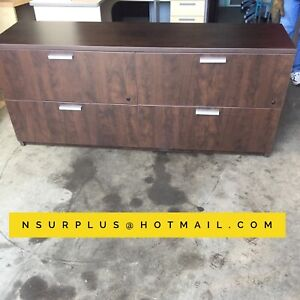 Credenza / 4 drawer lateral filing