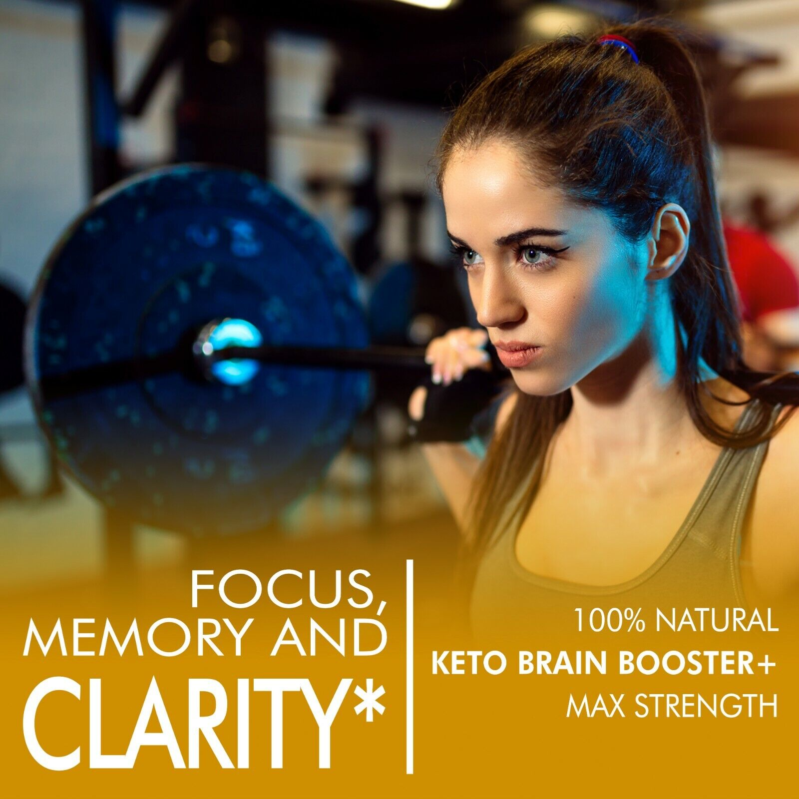 Brain Booster - Nootropic Brain Supplement - Focus, Concentration and Memory 1