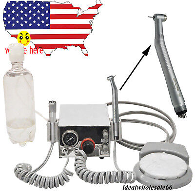 Dental Turbine Unit Work With Compressor 4 Hole 1 High Speed Handpiece Dentist