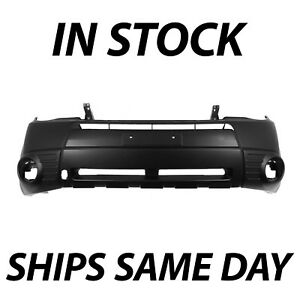 New Primered - Front Bumper Cover Replacement 2009-2013 Subaru Forester with Fog