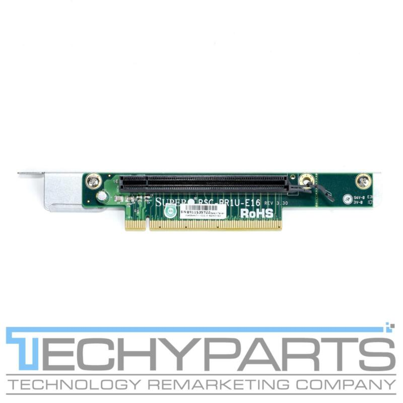 Supermicro RSC-RR1U-E16 1U PCI-E X16 Riser card w/ metal bracket