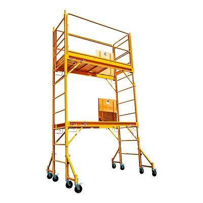 12 Ft Build Master Scaffolding Whatch Platforms Guard Rail Outriggers Sets