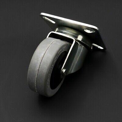 Set Of 4 Vintage Nos Rhombus Rollen Swivel Casters 50x20 German Quality Wheels