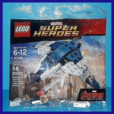 Sealed LEGO Super Heroes Poly Bag 30304 Marvel Avengers Quinjet Age of Ultron #2