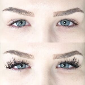 Eyelash extension & first fill $130(Reg140) Lash lift$50