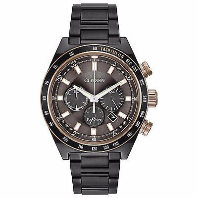 Citizen Eco-Drive Men's Refurbished CA4207-53H Chronograph Grey 42mm Watch