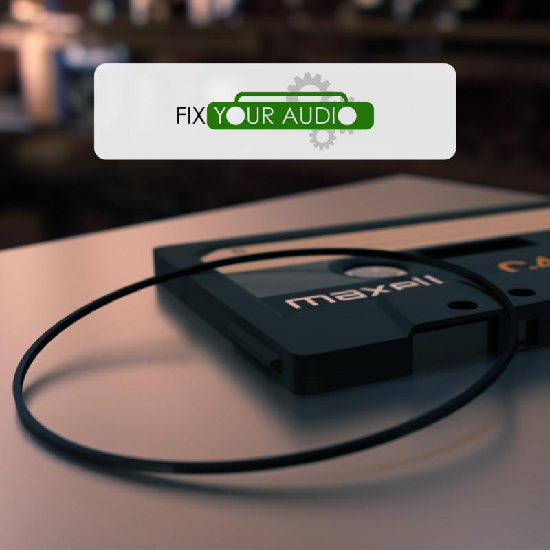 Belt for Sony WM 701C WM 702 WM 701S WM F701C WMF 701C Walkman Riemen für Sony