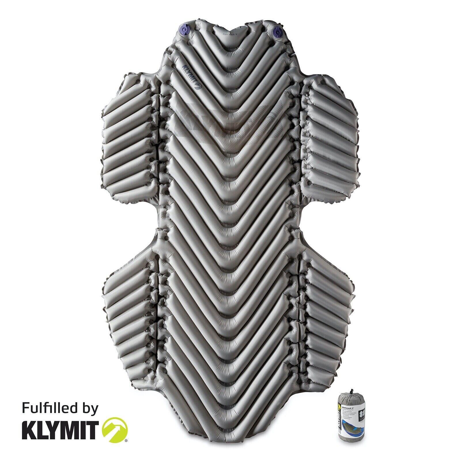 KLYMIT Hammock V Sleeping Pad for Hammock Camping - Certifie