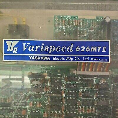 Yaskawa Varispeed 626 Mtiicimr-mtii-7.5k Spindle Drive Unit Cimr-mt2 Cnc