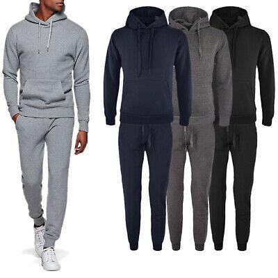 Tuta Uomo Invernale Completo Caldo Cotone Sport Maglia Felpa + Pantalone VEQUE